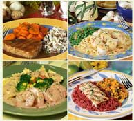 Gourmet Meat and Seafood Meals